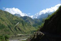 Annapurna landsacpe -  Nepal Royalty Free Stock Images