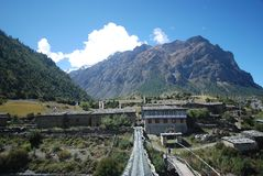 Annapurna landsacpe -  Nepal Royalty Free Stock Photography