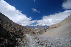 Annapurna landsacpe -  Nepal Stock Image
