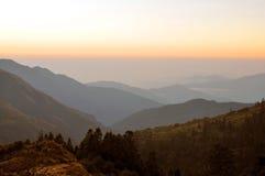 Annapurna massiv. Nepal. arkivbilder