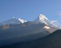 Annapurna massiv. Nepal. fotografering för bildbyråer