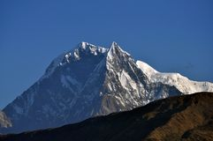 Annapurna massiv. Nepal. royaltyfri bild