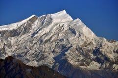 Annapurna massiv. Nepal. arkivbild