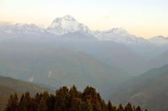 Annapurna masyw. Nepal. Zdjęcie Stock