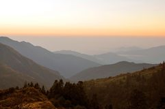 Annapurna masyw. Nepal. Obrazy Stock