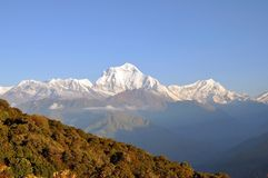 Annapurna masyw. Nepal. Zdjęcia Royalty Free