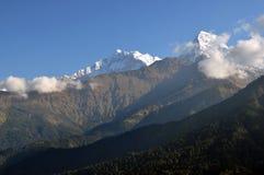 Annapurna masyw. Nepal. Fotografia Royalty Free