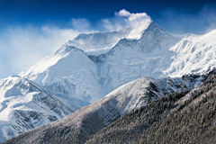 Annapurna mountain Stock Image