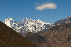 Annapurna mountains Stock Image