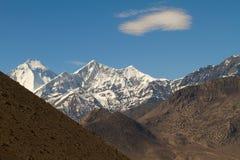 Annapurna mountains Stock Image