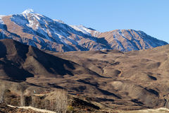 Annapurna mountains Stock Images