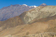 Annapurna mountains Royalty Free Stock Photos