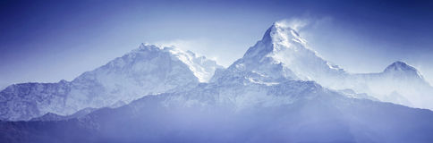 Annapurna mountains Stock Photo