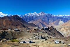 Annapurna nationalpark, Nepal Arkivbild