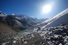 Annapurna, Nepal Stock Photo
