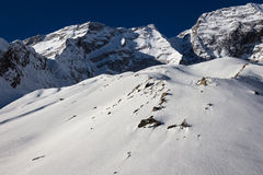 Annapurna Royalty Free Stock Photo