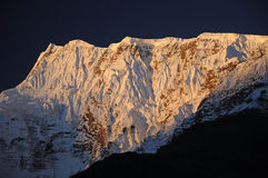 Annapurna peak, Nepal Royalty Free Stock Images