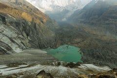 Annapurna podstawowego obozu sanktuarium, Nepal Obraz Stock