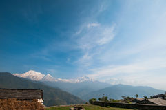 Annapurna range Royalty Free Stock Photo