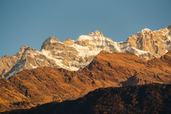 The Annapurna range Stock Image