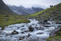 Annapurna river. An image of the Annapurna river near to base camp stock photo