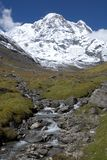 Annapurna South Stock Photo