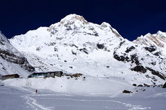 Annapurna South Base Camp Royalty Free Stock Photo