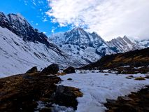 Annapurna South Royalty Free Stock Photo