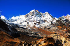 Annapurna South peack Stock Photo
