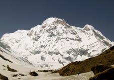 Annapurna sul fotografia de stock