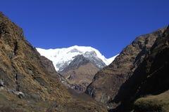 Annapurna Tal 2 Lizenzfreie Stockfotos