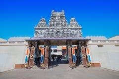 Annapurna tempel, Indore Royaltyfri Fotografi