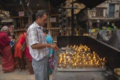 Annapurna Temple at Asan Tole in Kathmandu Royalty Free Stock Photography