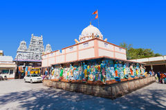 Annapurna temple, Indore Royalty Free Stock Images