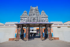Annapurna temple, Indore. Annapurna is a very beautiful and one of the oldest temples in Indore Royalty Free Stock Photography