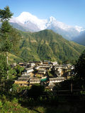 Annapurna Royalty Free Stock Image