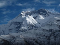 Annapurna Two Royalty Free Stock Images