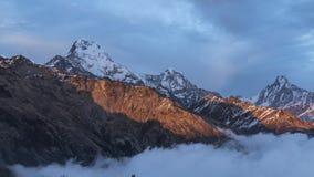 Annapurnaschemer Royalty-vrije Stock Foto