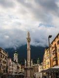 Annasaeule en Innsbruck Fotos de archivo libres de regalías