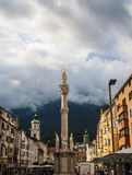 Annasaeule a Innsbruck Fotografie Stock Libere da Diritti