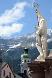 Annasaule en Innsbruck Imagenes de archivo