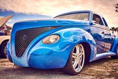 Annata antica e vecchie automobili fotografia stock