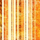 Annata arancione & marrone di carta impilata Fotografia Stock Libera da Diritti
