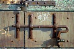 Annata, barra del modellato-ferro Fotografie Stock
