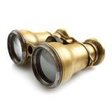 Annata binoculare Fotografie Stock