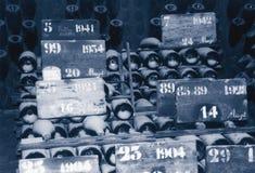 Annata Champagne Fotografie Stock