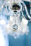 annata a cristallo della lampada fotografia stock