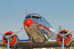 Annata DC-3 Immagine Stock