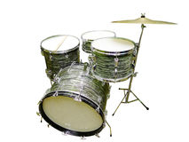 Annata dei tamburi Fotografie Stock Libere da Diritti