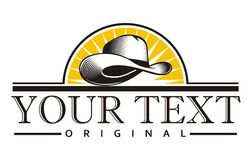Annata del cappello da cowboy Fotografia Stock Libera da Diritti